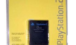 Ps2 memory card Php250 All brand new Low low wholesale