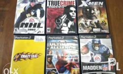 Original ps2 games from US 300 pesos each See pictures