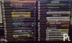 Original ps2 games for sale All in good condition With