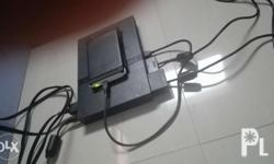 Ps2 slim with hard drive 250 g with 50 games installed.