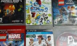 selling my ps3 cd games...in very good condition...jst