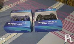 For Sale 2 pcs. PS3 Controller Wireless/Ds3 Brandnew
