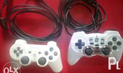 Ps3 controller with charger and usb controller galing
