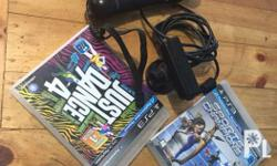 Ps3 move and eye Free Just Dance 4 CD game and Sports