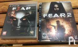 Selling my PS3 games F.E.A.R. 2 Project Origin and
