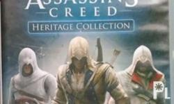 Asassins creed heritage collection is a 5 in 1 game,