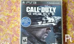 Selling my used PS3 games Call of Duty Ghost 700 and