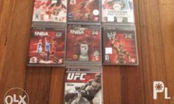 Selling for bundle only. A very good price for 7 PS3
