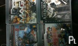 Orig Ps3 games with boxes Nba ballers-500 Assassin's