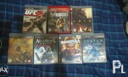Ps3 Games 2nd hand(All in good condition) Hindi na