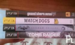 Tomb Raider - 300 GTA V - 500 (reserved) Watch Dogs -
