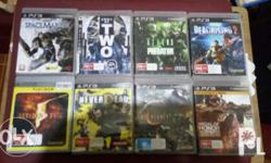 For sale original PS3 games. Meet up places near