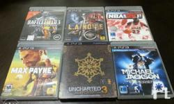 PS3 games for sale. Mint condition. BF3 limited