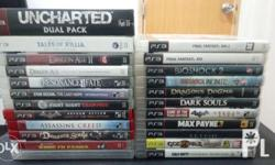 2nd Hand PS3 Games Uncharted Dual Pack = 750 Tales of