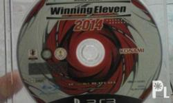 Ps3 games winning eleven 2014 no case, orig made in