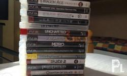 PS3 Games for Sale or Swap Original po lahat at wala