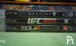 For sale or swap ps3 games: - test drive unlimited 2,