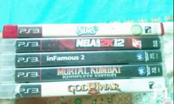 Ps3 games for sale or swap/trade God of war 3 P800