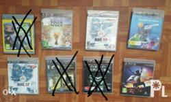 Ps3 games 300 pesos each 1000 for the 4 remaining