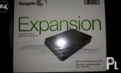 selling seagate expansion 2tb full with ps3 games comes