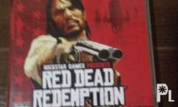 Ps3 red dead redemption r1 complete with manual and map