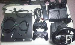Selling beloved PS3 slim 120gb Inclusion: 2 wireless