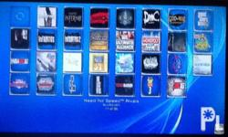 Ps3 ocean blue slim 500gb Loaded na ng games 30 games.