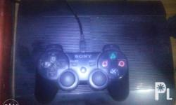Second hand ps3 slim for sale comes with one orig