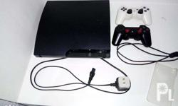 PS3 UNIT (never been repaired) 2 wireless controller 1