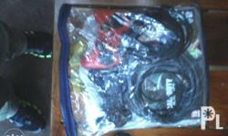 PS3 Game Console 3 Controllers 2 pcs. Games All cables