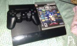 For Sale PS3 Super Slim CECH-4012C 500GB and PS3 games