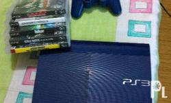REPRICED Ps3 Super Slim 500GB good condition with 5