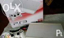 Selling my PS3 Superslim white Bought at Toys R Us last