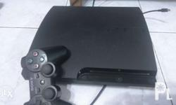Reason for selling: im not a big fan of ps3. the