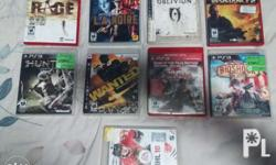PS3 wd 2 Controllers and 9 Games