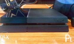 PS4 500gb (if unit only 15k) W/original travelling ps4