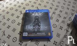 PS4 Bundle Game for sale. Bloodborne the old hunters