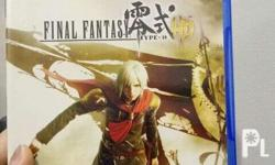PS4 game Final Fantasy Type-0 HD Good as new No