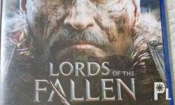 For sale PS4 Lords of the Fallen Less than 5 times lang