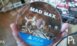 For sale or for trade: Ps4 game mad MAx Ripper edition