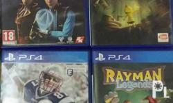 Madden NFL 17 (P600) Rayman Legends (P750) Tales from