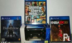 Selling PS4 Games and Controllers Original Dualshock 4