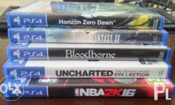 Bundle 3.2k for 4 games HZD - P1,550 Uncharted NDC -