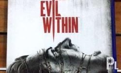 Evil Within 1 for PS4 Very good horror game Almost new