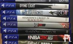 Not used ps4 games! Pm for prices