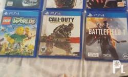 Lego 700 Until Dawn 800 Witcher 900 Call of Duty 800