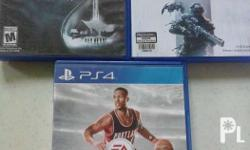 Games are in mint condition, no issue.. For sale or