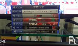 Ps4 games for Sale: P800 Sleeping Dogs: Definitive