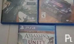 Assassins Creed Unity Limited Edition Watchdogs WRC 5