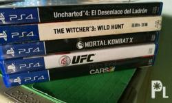 Trade / Sale Uncharted 4 - 1500 The Witcher 3 with map
